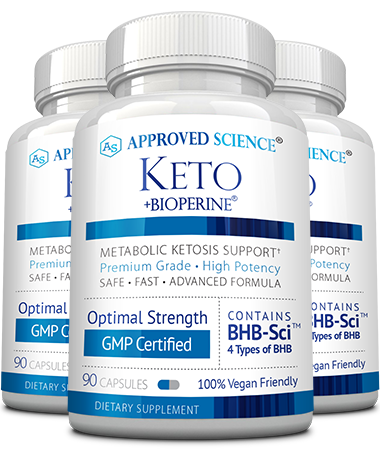 Approved Science Keto Main Bottle
